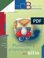 Planeación y Preparación Del Sitio