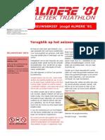 Nieuwsbrief Jeugdatletiek Juni Juli 2014