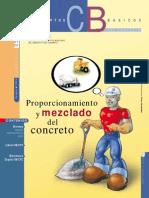 Proporcionamiento y Mezclado Del Concreto