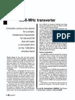 1296 MHz Transverter