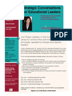 Strategic Conversations for Educational Leadership with Robyn Jackson