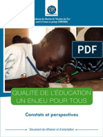 Dro Sur La Qualite de l Education