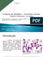 Linfoma Hodgkin - Apresentação Atualizada