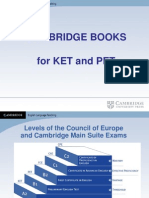 Objetivos del Examen Preliminary English Test (PET) de Cambridge