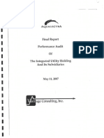 Vantage Final Report - Performance Audit on Aqualectra 11 May, 2007