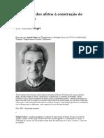 O Comum - Dos Afetos à Construção de Instituições. Toni Negri