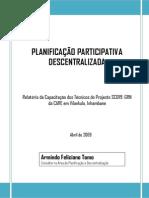 Armindo Tomo - Relatório de Formação SCORE-GRN 2009
