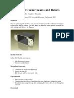 Sheet Metal Corner Seams and Reliefs