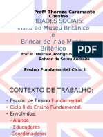 ATIVIDADES SOCIAS