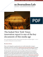 The Leaked New York Times Innovation Report is One of the Key Documents of This Media Age » Nieman J