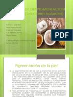 Tecnicas de Despigmentacion de La Piel (Soluciones
