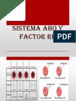 Sistema Abo y Factor Rh Diapo