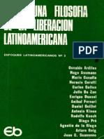 Ardiles et al Hacia una filosof+¡a de la lib