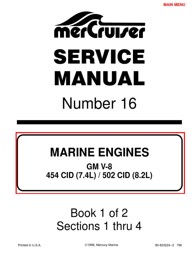 Astounding 7 4L 454 Mercruiser Manual Gasoline 16K Views Wiring Digital Resources Remcakbiperorg