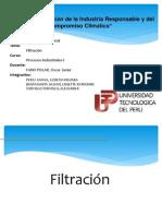Procesos Industriales I - Filtracion