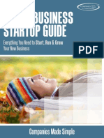 eBook ;The Ultimate Small Business Startup Guide Lead