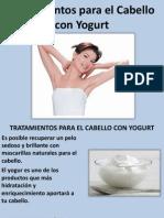 Tratamientos Para El Cabello Con Yogurt