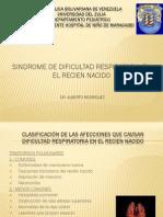 Sindrome de Dificultad Respiratoria Seminario