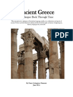 Ancient Greece a Glimpse Through Time