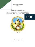 Micropilotes_Anclajes
