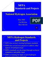 Nfpa Hydrogen Standards