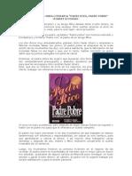 Resumen de La Obra Literaria