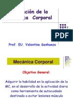 Aplicación de La Mecánica Corporal