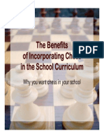 McDonald - Benefits of Incorporating Chess in School Curriculum