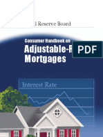 Consumer Handbook on Adjustable Rate Mortgages (ARM)