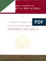 Las Civilizaciones Primitivas y El Imperio Incaico