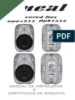 Manual Oneal OPB 1515
