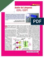 Probador Lamparas CCFL CCFT Alemanialive