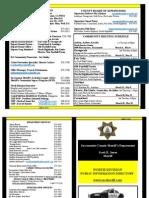 Sacramento County Sheriff North Public Directory - Spring 2014