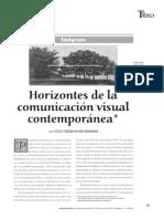 Horizontes de La Comunicacion Visual Contemporanea - Goyes Narvaez