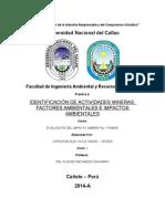 Practica 2 - Identificaciones de Impactos Ambientales
