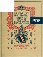 (1922) Heraldry & Floral Forms Used in Decoration