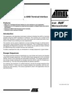 AVR UART as ANSI Terminal Interface