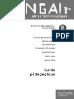 Venga ! 1res Séries Technologiques - Livre Élève Format Compact - Ed.2011