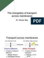 Transport Energetics