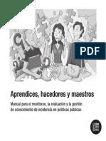 Manuel Monitoreo-Evalucion y Gestion Del Conocimiento