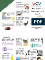 94198116 Triptico Prevencion De Accidentes En El Hogar