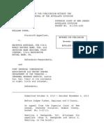 William Suser v. Wachovia Mortgage A