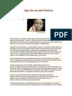 El Peligro de Una Sola Historia-Adiche-Clase1-Historia