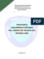 74900551 Reglamento Interno Del Cuerpo de Policia Del Estado Lara Propuesta