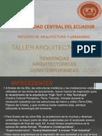 TENDENCIAS ARQUITECTONICAS (2)