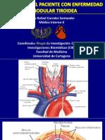 Enfoque Diagnostico de La Enfermedad Nodular Tiroidea