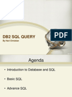Db2 SQL Query