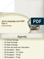 05 Java Language and OOP Part V