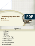 04 Java Language and OOP Part IV