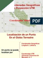 La Proyección Utm y El Gps 2014